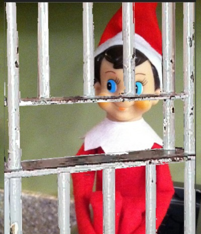 Elf On The Shelf Wanted For Gross Criminal Misconduct And